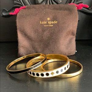 kate spade Jewelry - Kate spade bangles!
